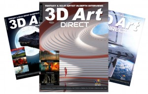 3D Art Direct Magazine Covers