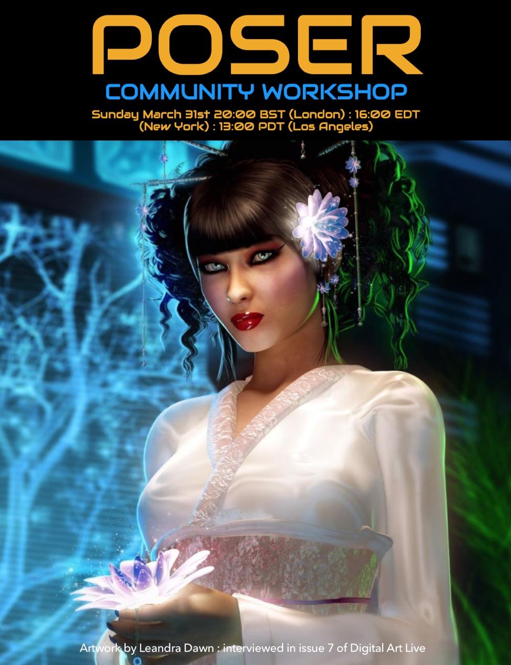 Poser Community Workshop