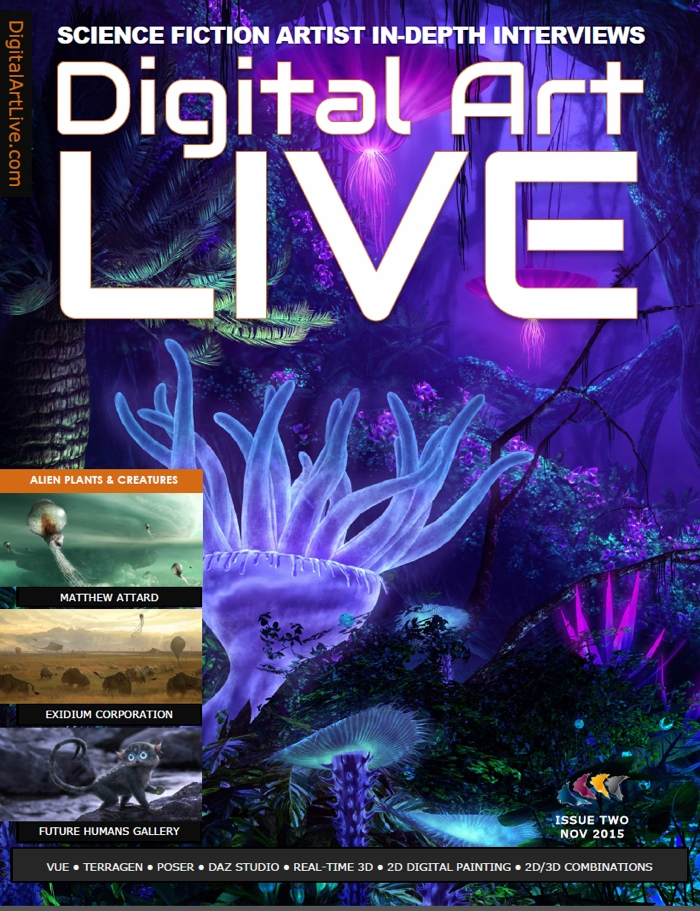 Digital Art Live Issue 2 jpeg