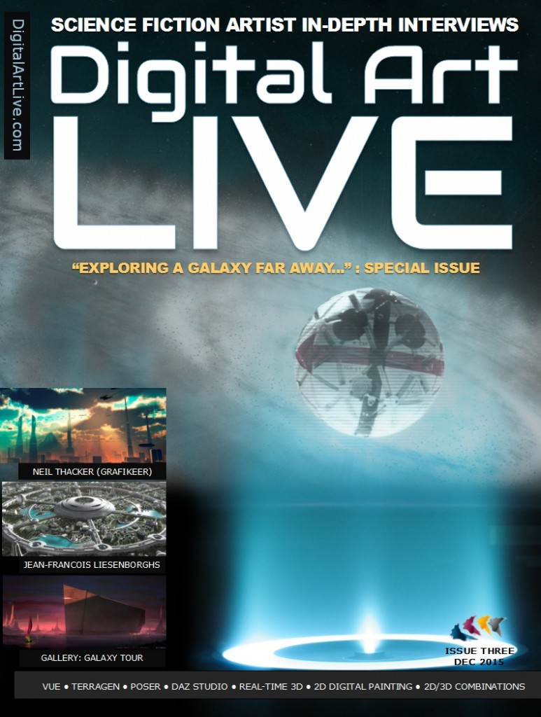 Issue 3 of Digital Art Live