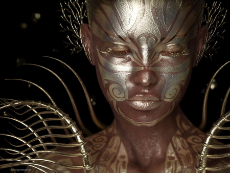 Gold Dream by Margotmaine using Reality 4