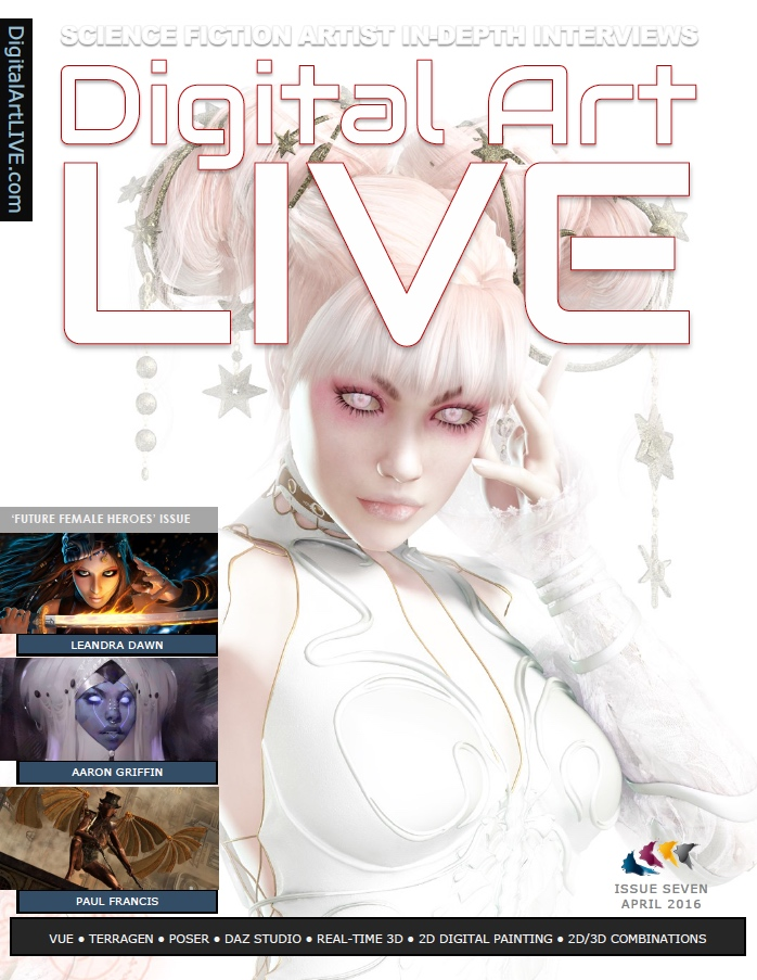 Issue 7 Digital Art Live