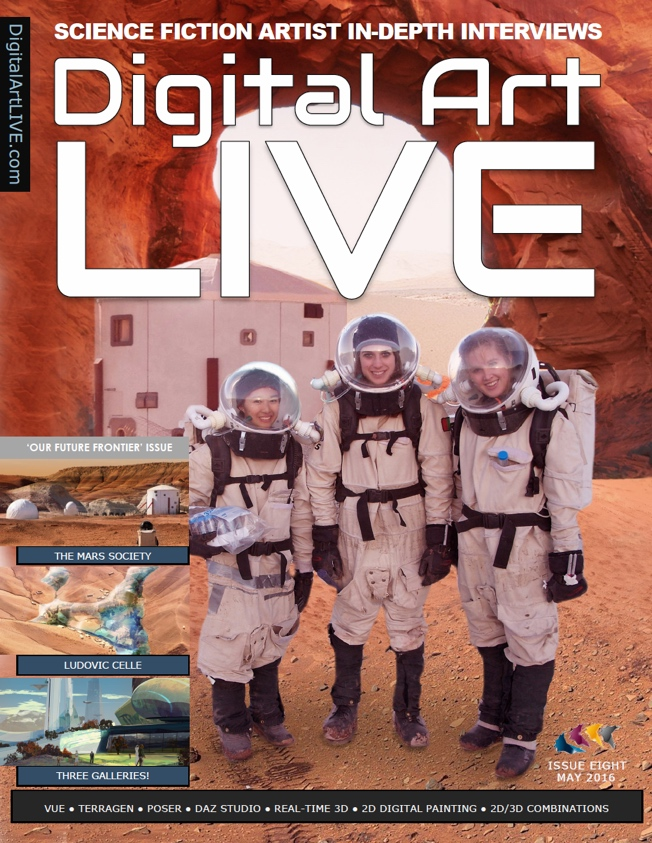 Issue 8 of Digital Art Live
