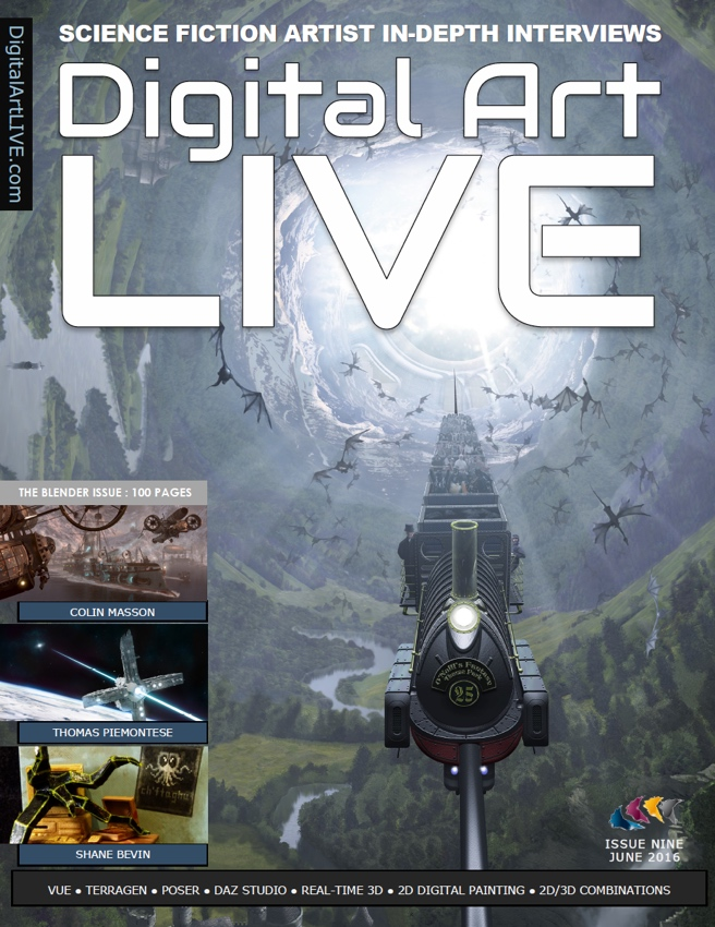 Digital Art Live Issue 9