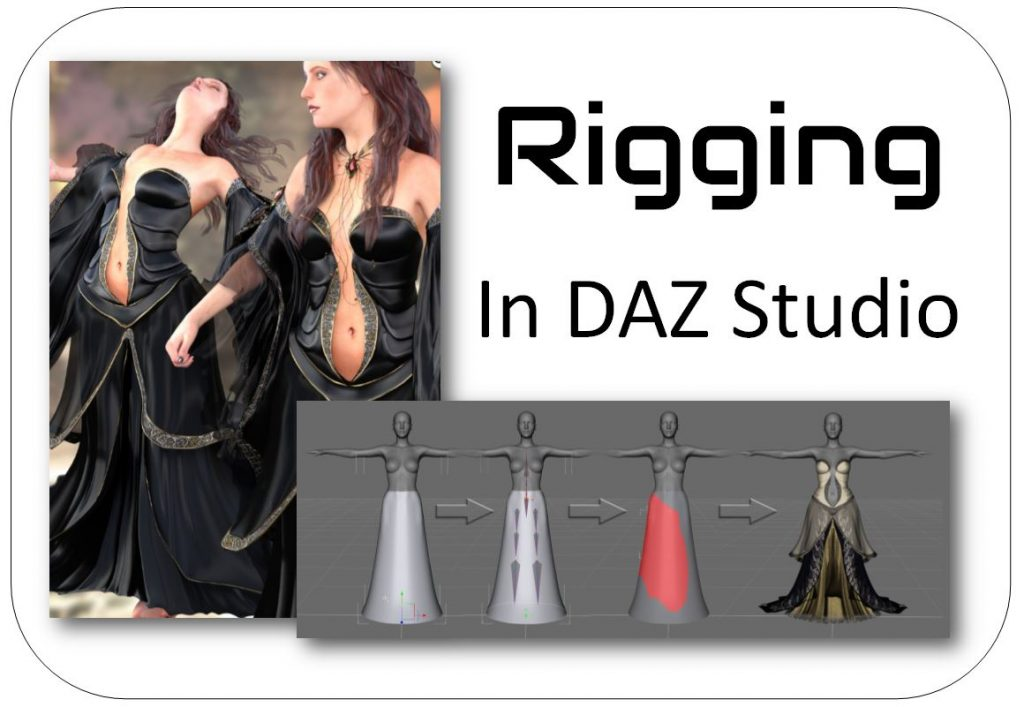 DAZ Studio Rigging