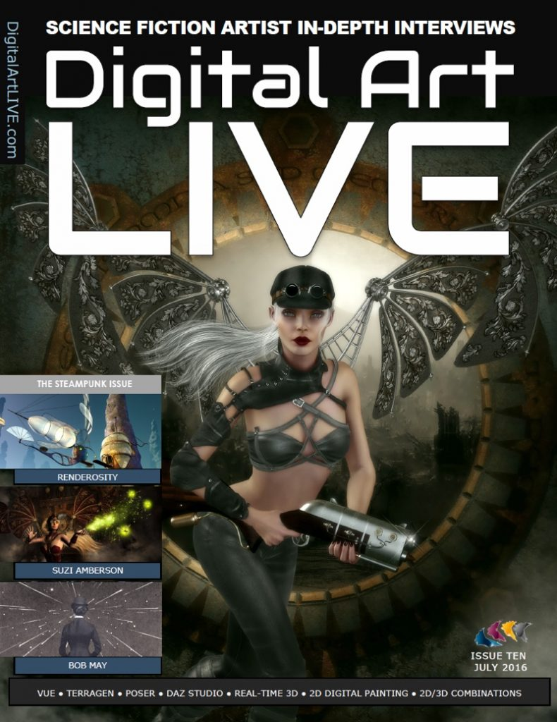 Issue 10 of Digital Art Live