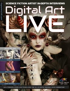 Digital Art Live Cover Issue 12