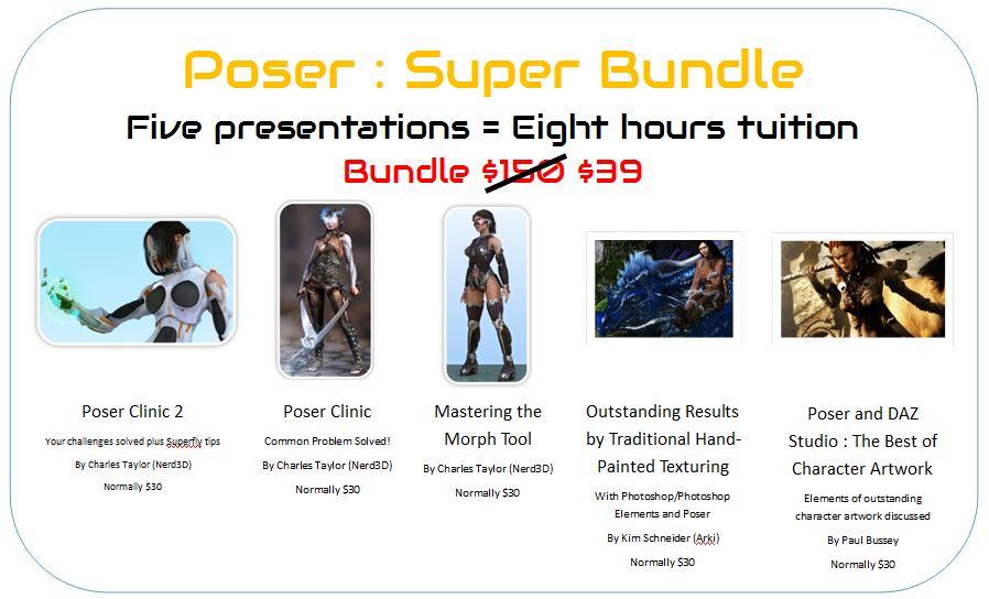 Poser Super Bundle
