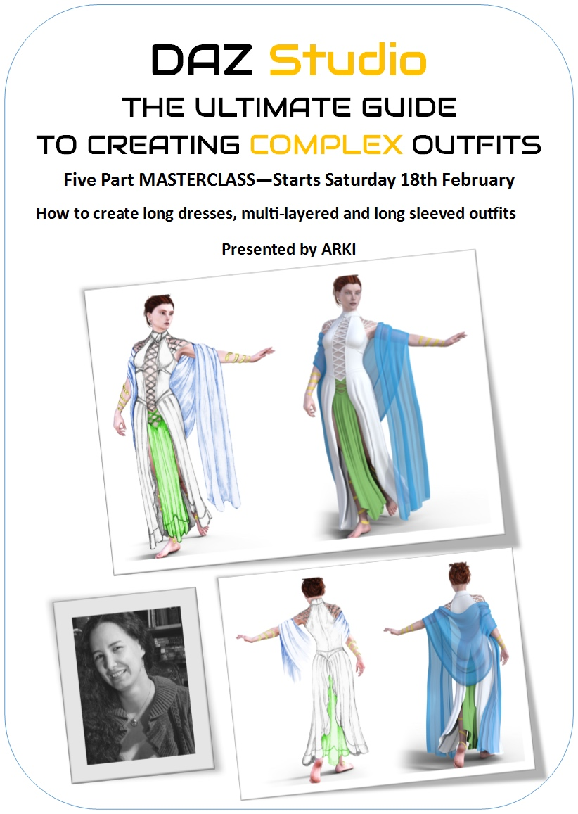 The Ultimate Guide to Creating Complex Outfits in DAZ Studio