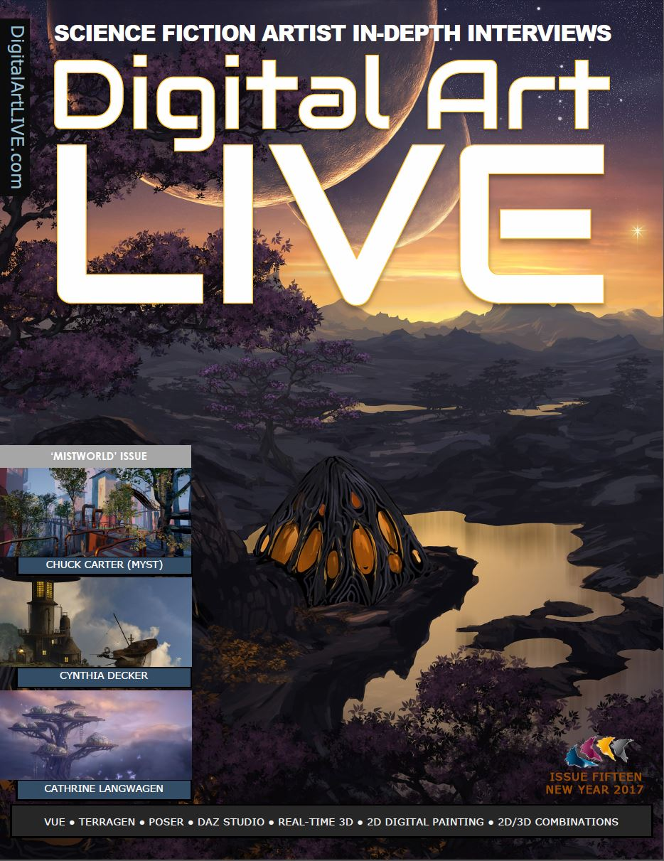 Issue 15 of Digital Art Live
