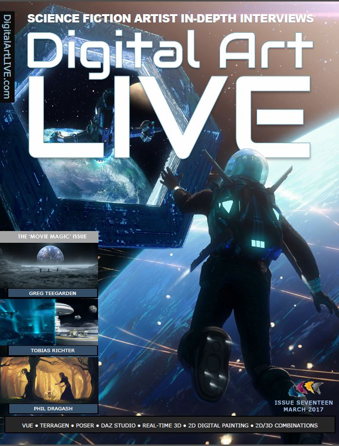 Digital Art Live Issue 17