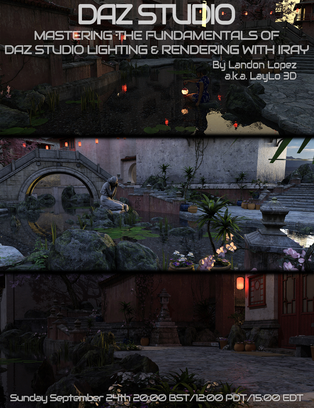 Mastering the Fundamentals of Iray Lighting and Rendering by LayLo 3D