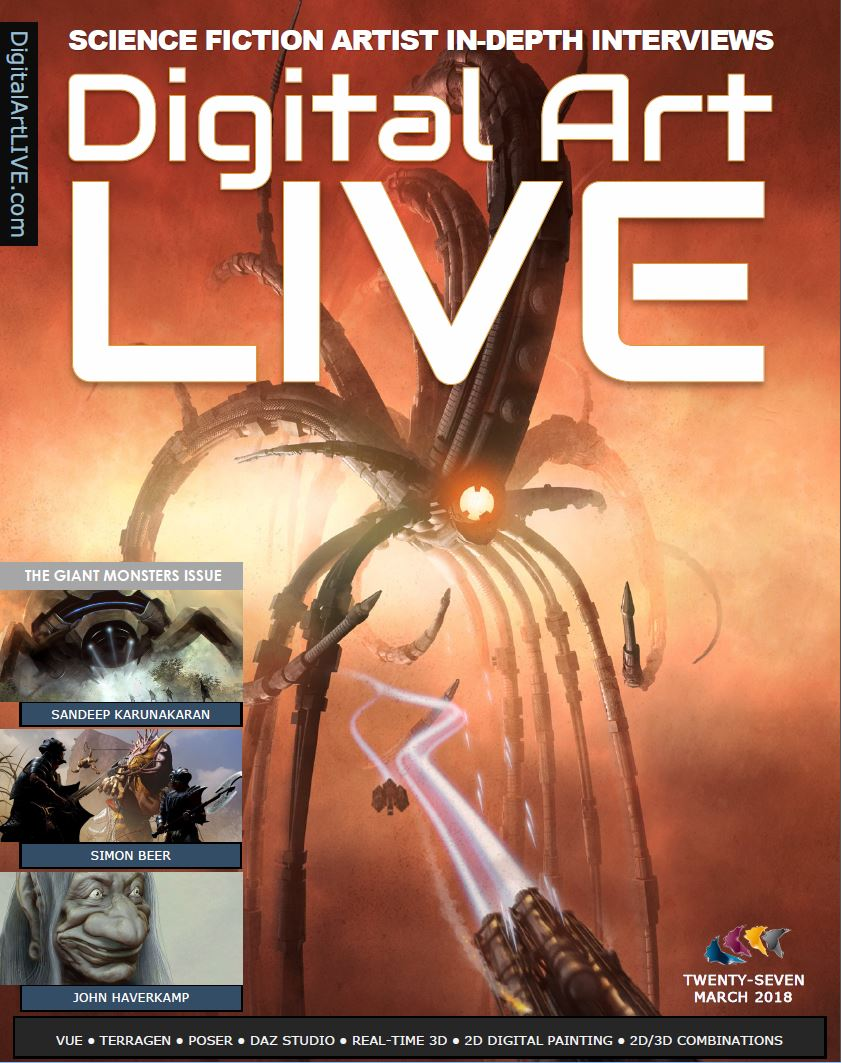 Issue 27 Digital Art Live