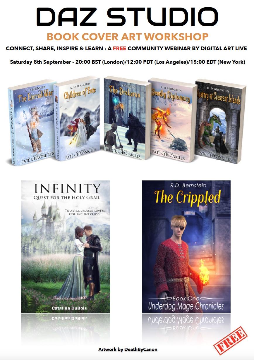 Book Cover Webinar Workshop