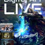 Magazine cover of Digital Art Live Issue 45